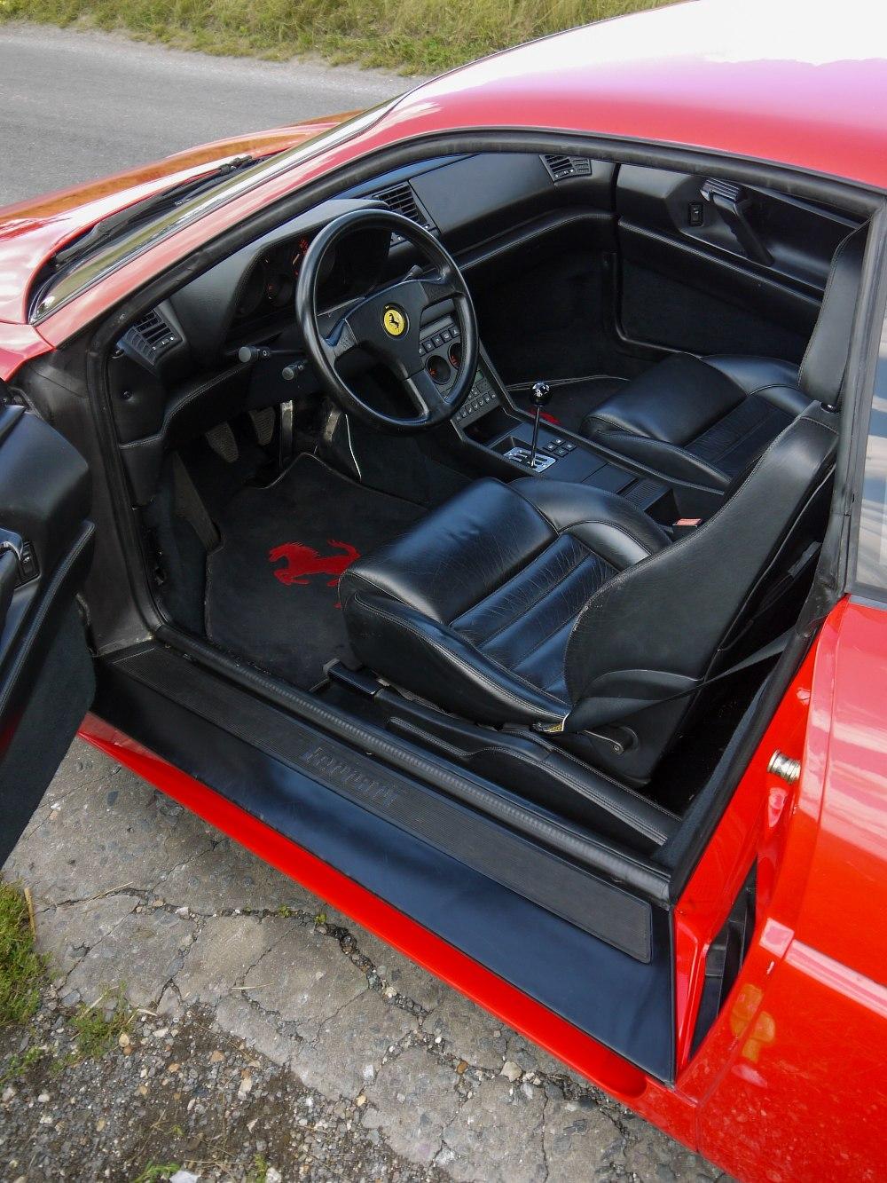 1993 FERRARI 348 TRASVERSALE BERLINETTA Registration Number: L796THC Chassis Number: - Image 20 of 49