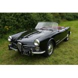 1960 ALFA ROMEO TOURING SPIDER Registration Number: 307 XVJ Chassis Number: AR*10204*000517 Recorded