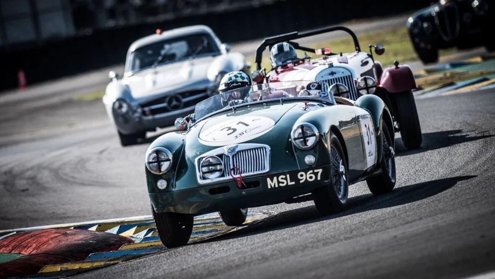 1958 MGA ROADSTER - CLASS WINNER OF LE MANS CLASSIC Registration Number: MSL 967 Chassis Number: