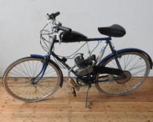 C. 1980 RALEIGH TRAVELLER WITH MOTORISED MOPED CONVERSION Registration Number: n/a Frame Number: n/a