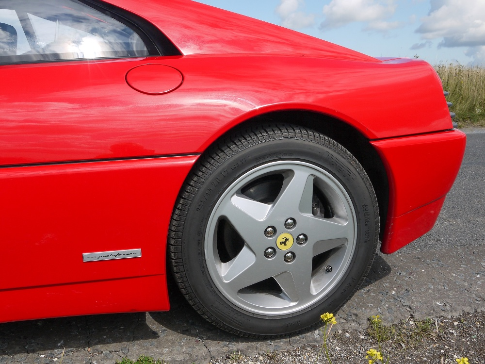 1993 FERRARI 348 TRASVERSALE BERLINETTA Registration Number: L796THC Chassis Number: - Image 15 of 49