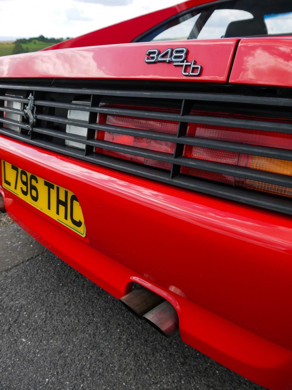 1993 FERRARI 348 TRASVERSALE BERLINETTA Registration Number: L796THC Chassis Number: - Image 10 of 49