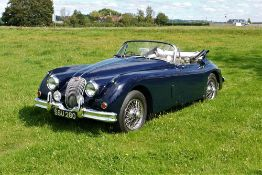 1958 JAGUAR XK150 DROPHEAD COUPE Registration Number: SSU 260 Chassis Number: S837226 Recorded