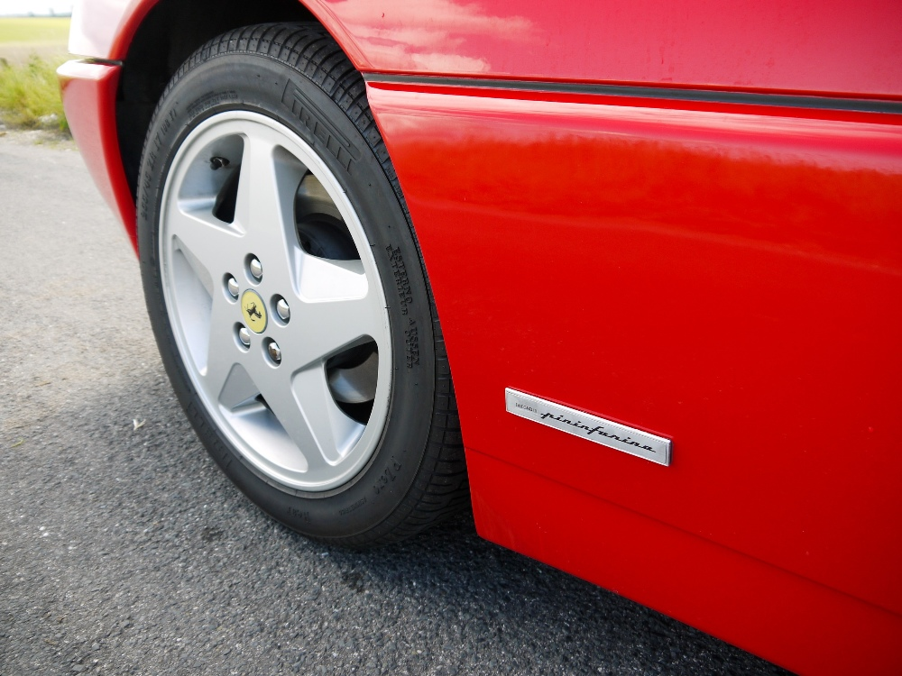 1993 FERRARI 348 TRASVERSALE BERLINETTA Registration Number: L796THC Chassis Number: - Image 11 of 49