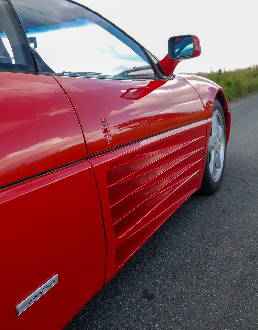 1993 FERRARI 348 TRASVERSALE BERLINETTA Registration Number: L796THC Chassis Number: - Image 13 of 49