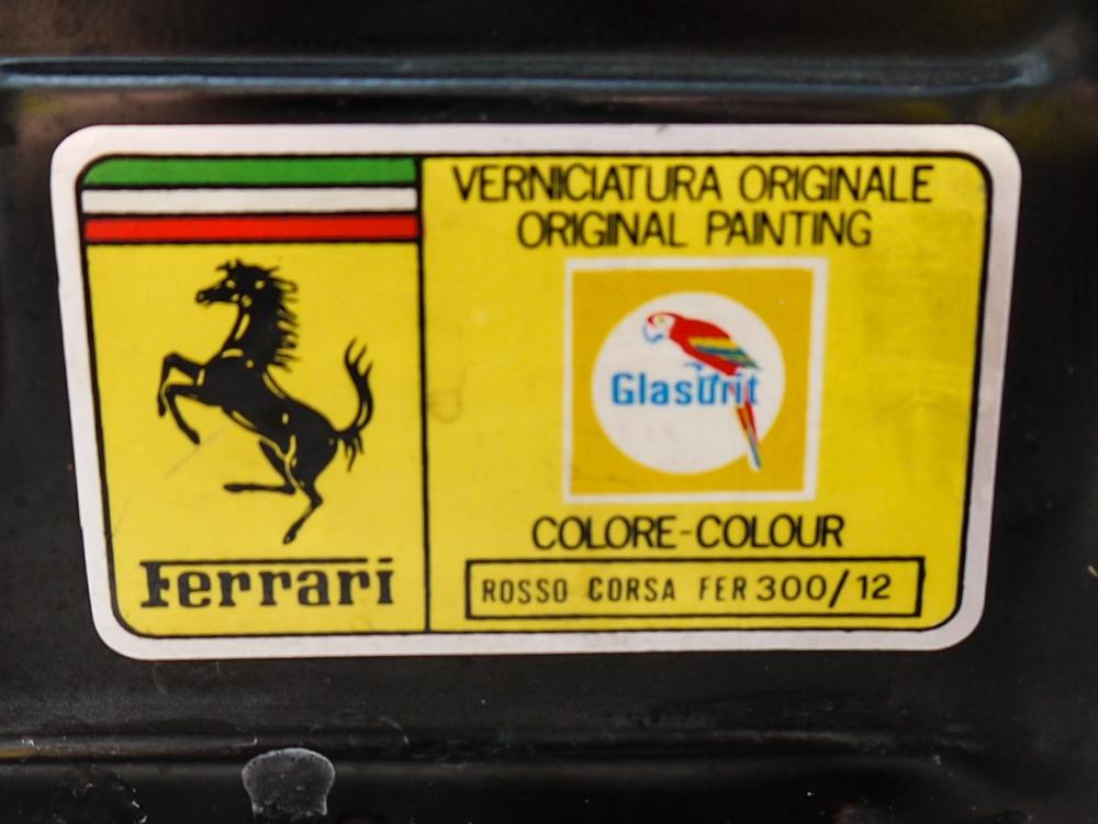 1993 FERRARI 348 TRASVERSALE BERLINETTA Registration Number: L796THC Chassis Number: - Image 45 of 49