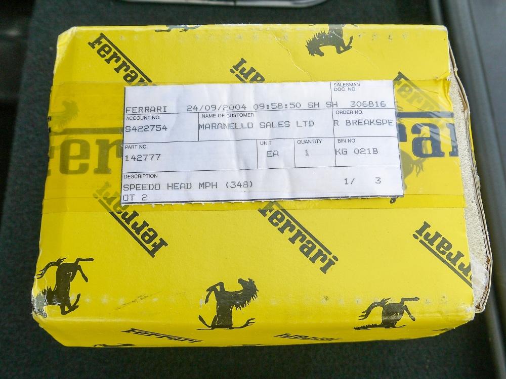 1993 FERRARI 348 TRASVERSALE BERLINETTA Registration Number: L796THC Chassis Number: - Image 48 of 49