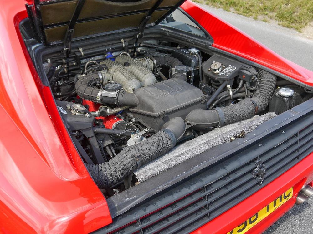 1993 FERRARI 348 TRASVERSALE BERLINETTA Registration Number: L796THC Chassis Number: - Image 32 of 49