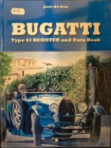 BUGATTI TYPE 43 REGISTER AND DATA BOOK BY JACQUES DU GAN