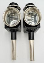 PAIR OF REPRODUCTION CARRIAGE LAMPS