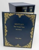 CLAIRE HAY - BENTLEY THE VINTAGE YEARS IN THREE VOLUMES