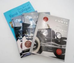 SELECTION OF FOUR BOOKS ON LALIQUE
