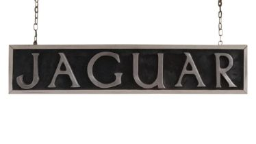 1930S PERIOD ORIGINAL JAGUAR DEALER SIGN approx 71cm long