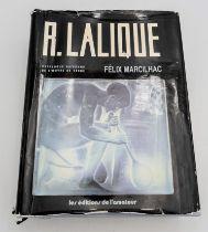 R.LALIQUE BOOK BY FELIX MARCILHAC