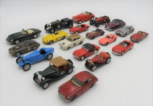 COLLECTION OF MODEL CARS from the 1960s, 1970s, 1980s from Dinky and Corgi. 19 in total.