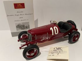 CMC MODELS 1:18 SCALE MODEL OF THE 1924 MERCEDES TARGA FLORIO OF CHRISTIAN WERNER AND KARL SAILER (