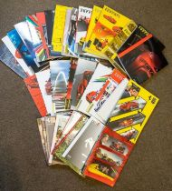 A SELECTION OF OFFICIAL FERRARI YEARBOOKS AND OTHER PROMOTIONAL MATERIALS