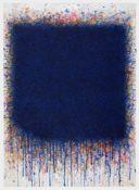 Bernd Berner Bergedorf 1930 - 2002 Stuttgart Ohne Titel (Flächenraum). Gouache. 1982. 69,8 x 49,8