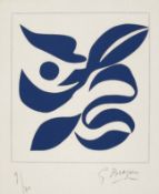 Georges Braque Argenteuil 1882 - 1963 Paris Si je mourais là-bas. Holzschnitt. 1962. 26 x 24 cm (