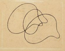 Jean Arp Straßburg 1886 - 1966 Basel Percursori. Radierung. 1966. 11,5 x 14,5 cm (25 x 20 cm).