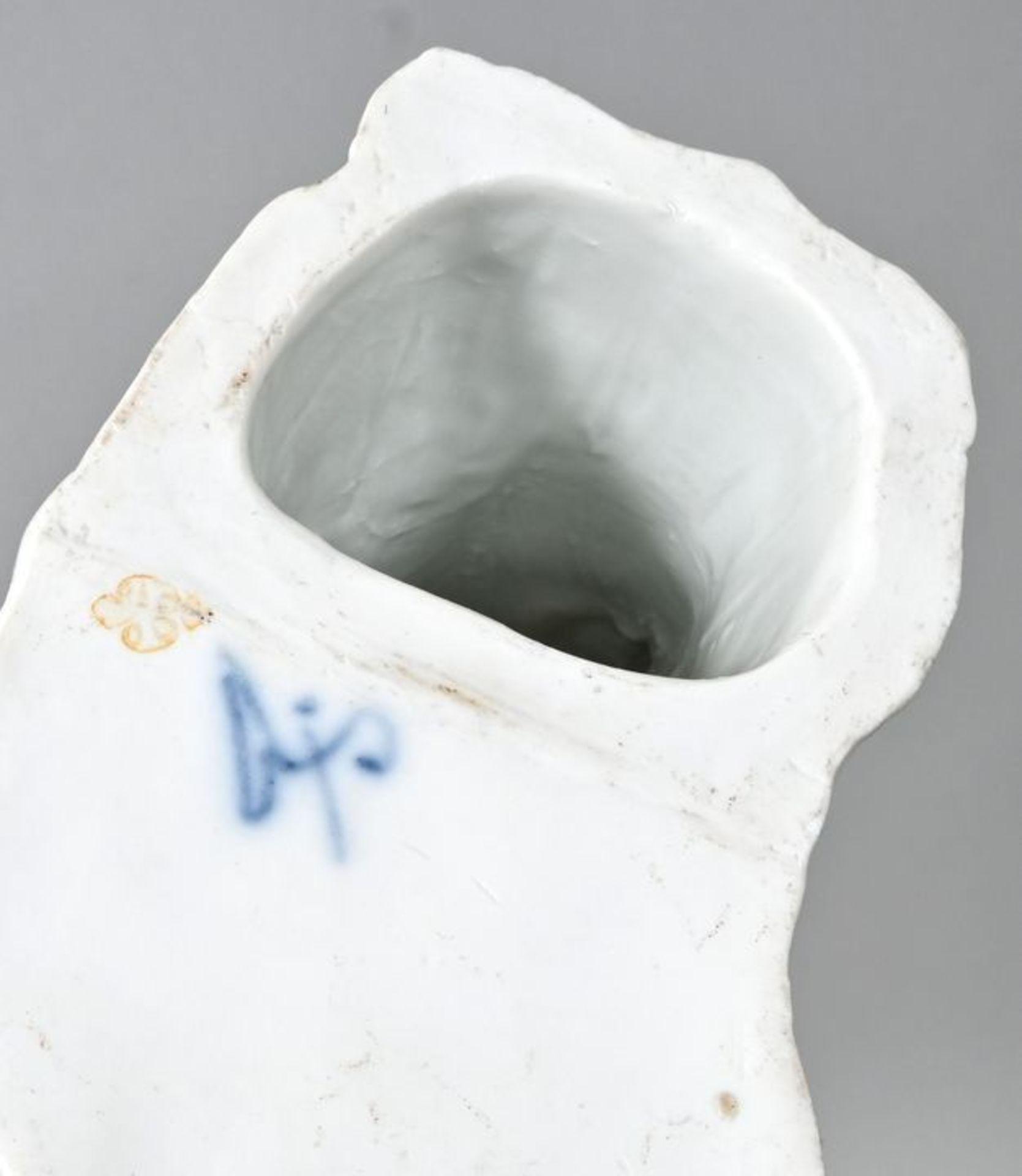 Porzellanfigur Einmannbohrer, Fürstenberg, 2. H. 18. Jh.Modell Simon Feilner, aus der Serie - Bild 3 aus 3