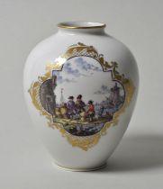 Vase, Handmalerei, Voigtmann / vase