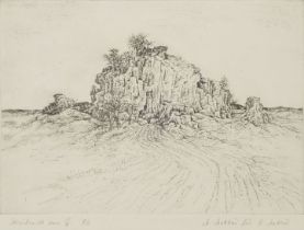Matthey, Radierung / Matthey, etching
