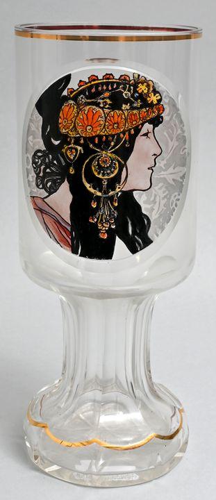 Pokalglas / Glass Throphy