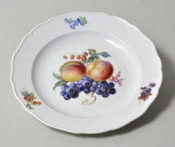 Teller, Meissen, ''Früchte'' / plate