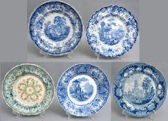 Steingutteller / plates