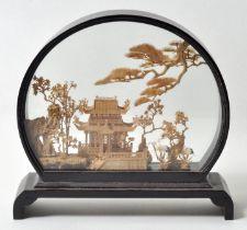China. Schaubild Kork / China display