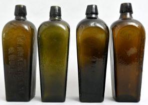 Konvolut von vier Ginflaschen / Four gin bottles
