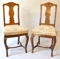 1 Paar Stühle / Pair of chairs
