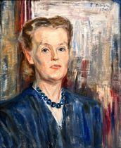 Hoolstein, Emma Gemälde Porträt / portrait