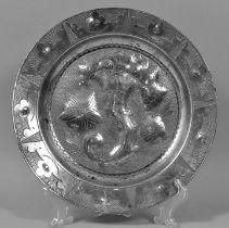 Teller, Zinn / plate