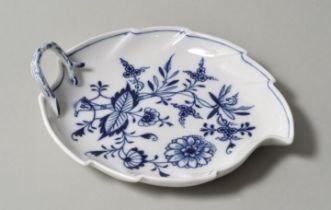 gr. Blattschale, Meissen / large bowl