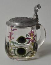 kl. Glashumpen / small glass tankard