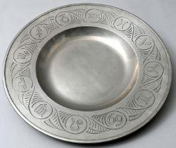 gr. Zinnplatte / bowl