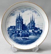 Wandteller, Meissen / wall plate