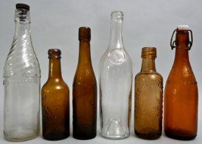 Konvolut von sechs Flaschen / Set of six bottles