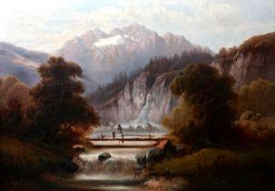 Zopf, P. Gemälde, 1876 / painting