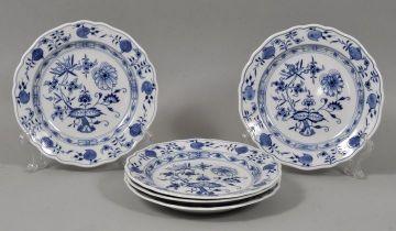 Teller, Meissen, ZM / five plates