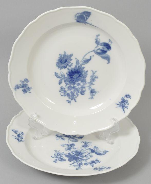 Paar Teller, Meissen / plates
