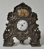 Spindeltaschenuhr im Uhrenhalter, Paris / pocket watch in stand