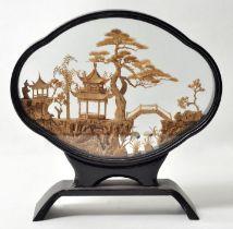 China. Schaubild vierpassig / display