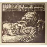 Nehmer, Rudolf, Holzschnitt / Nehmer, Rudolf, woodcut