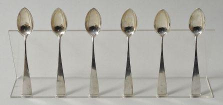 Kaffeelöffel, Silber / six spoons