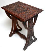 Jugenstil Beistelltisch / Art Nouveau side table