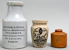 Konvolut Tontöpfchen / Set of pots