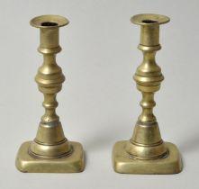 Paar Leuchter, Bronze / candlesticks